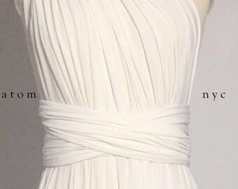 White long toga dresses