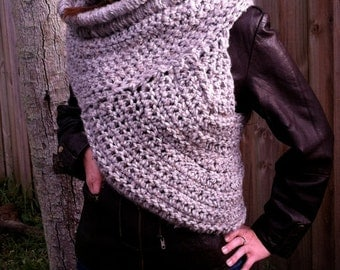 Crochet Hunger Games Inspired Katniss Cowl Vest