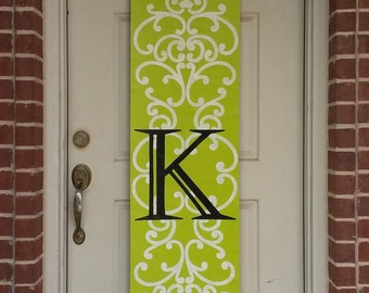 Monogram Door Decoration III,  Custom