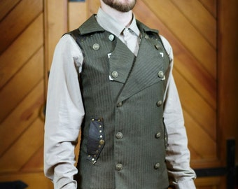 A Double-Breasted Steampunk Vest