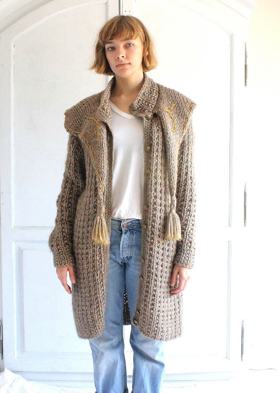 Chunky Sweater Coat