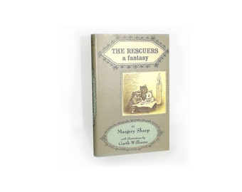 The Rescuers: A Fantasy, Book - 1st Edition Reprint, 1959 - Childrens Fiction - Free Shipping / Free Insurance