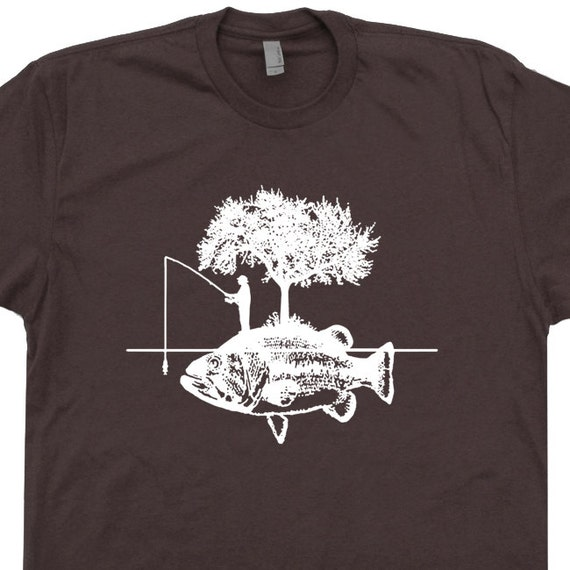 Fishing T Shirt Fisherman Hunting Fish T Shirts I'd Rather
