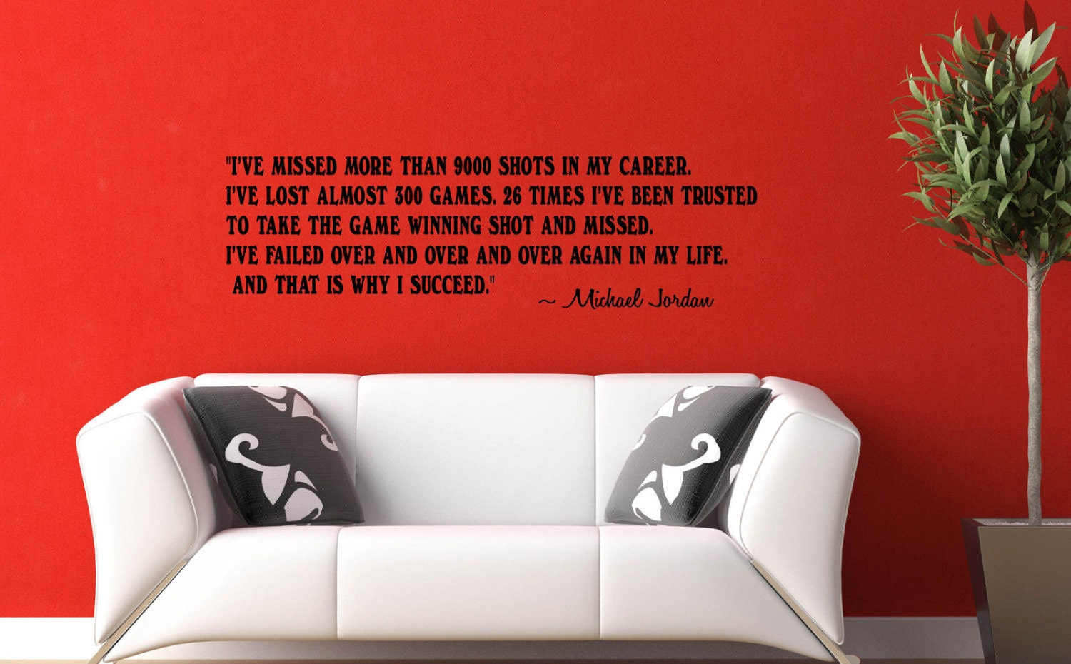 Michael jordan i succeed wall decal success quotes and phrase zoom amipublicfo Choice Image
