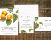 Orchard Wedding Invitation Suite (Set of 25) | Wedding Invitation Set, Custom Wedding, Outdoor Wedding Invitation, Country Wedding