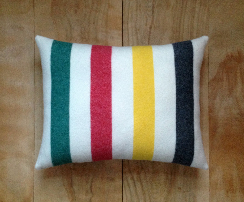 Decorative Pillows Hudson Bay : Glacier National Park Pillow Hudson Bay Pendleton Cabin
