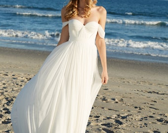 Silk Hand Gathered Bustier Wedding Gown