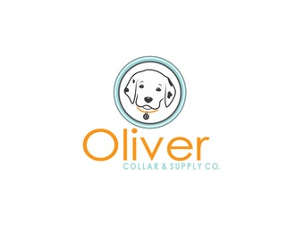 Logo Design, Illustrated Pet Logo, Dog Logo, Dalmatian Logo