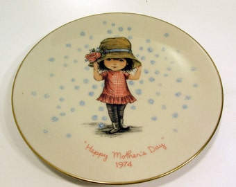 Gorham China Moppets Mother's Day Plate 1974