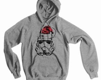 Stormtrooper Santa American Apparel Hoodie