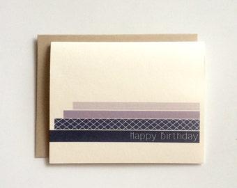 Happy Birthday Card- Greeting Card- Birthday Card