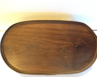 Handmade Black Walnut Tray.