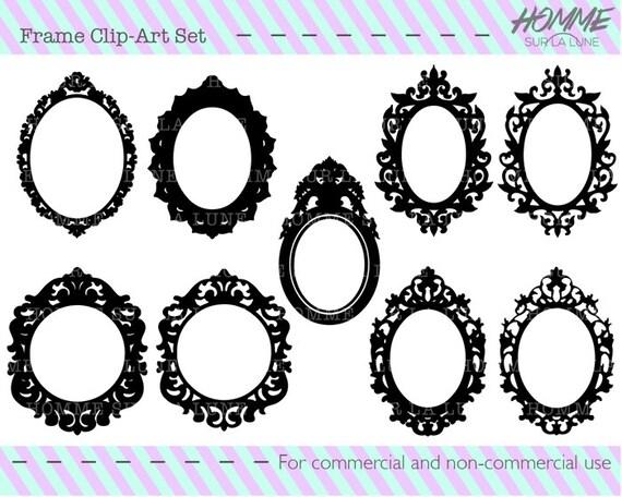 Bilderrahmen Verzieren Ornamente ~ BildFrameSortiment, Bild Rahmen Clipart, Rahmen Clipart, verzieren