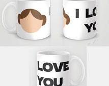 Star Wars Two Mugs I Love You I Know