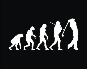 25 Evolution Of Golf T-shirt