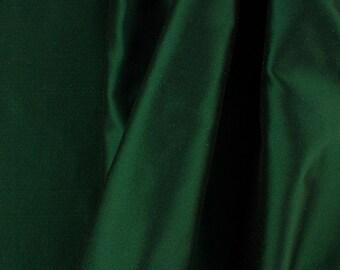 "Solid Taffeta Fabric - Green - Sold By The Yard 58""/60"" Width"