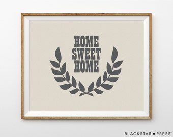 home sweet home newlywed gift for couple housewarming gift new home gift first home gift foyer decor entryway decor foyer print