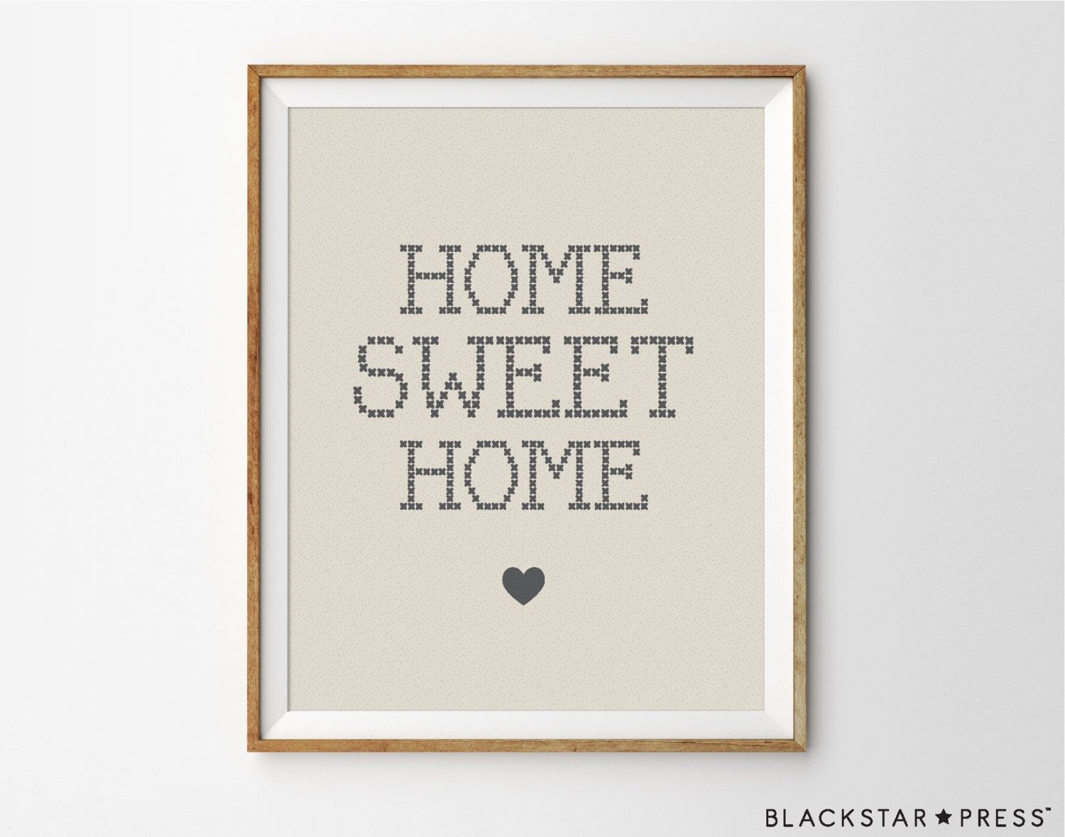 Home sweet home quote kitchen decor home decor print - Home sweet home decorative accessories ...