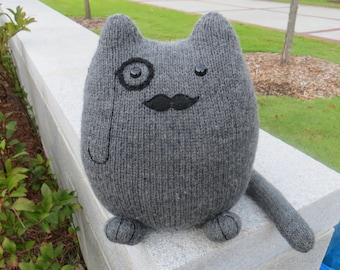 Henri the Handsome GentleCat - wool plush toy