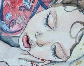 Sleep Sweet Little One- 5x5 Print