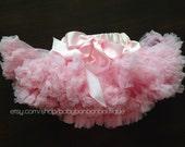 Pink fluffy petti skirt, baby girl pettikskirt, pink tutu, pink skirt