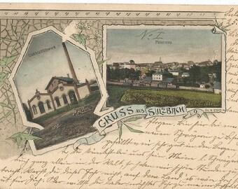 Gruss aus Sulzbach, Germany - Antique 1902 Used Postcard