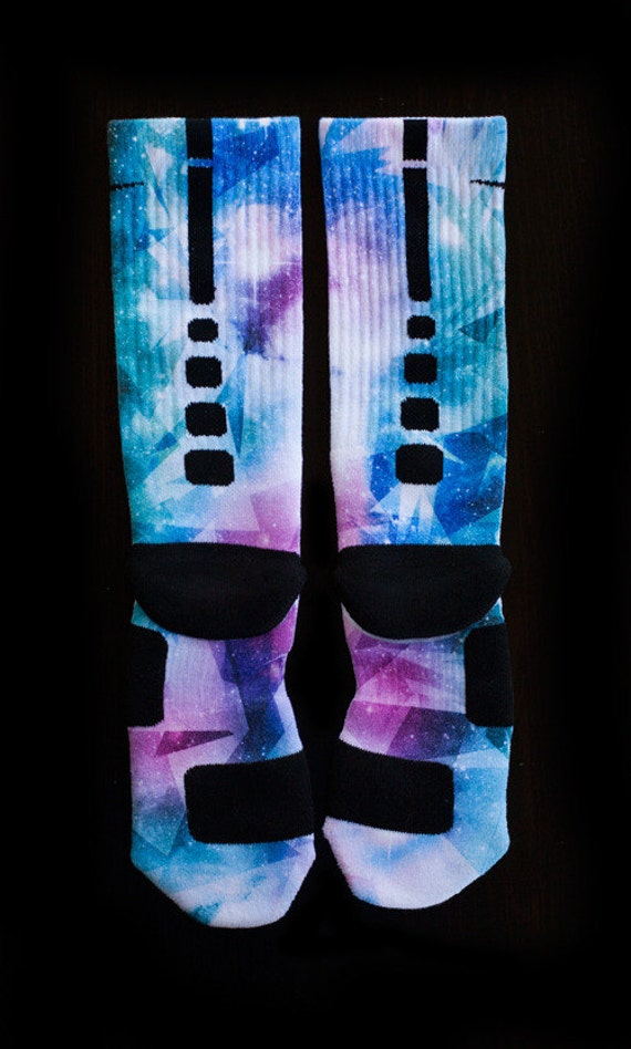 Custom nike elite or notion socks for lebron x pure by thesockgame