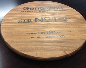 "Personalized 17"" Lazy Susan"
