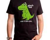 Pinch Me (GT3522-101BLK) Men's T-shirt.