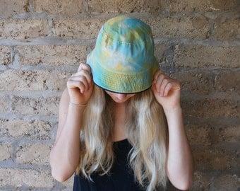 Tie Dye Bucket Hat Troll Clothing - Reversible