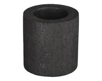 3 oz Mini Graphite Crucible Propane KWIK Kiln Furnace Torch Melting Gold Silver Copper Scrap Jewelry CRU-0020