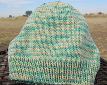 Light Green Camo knitted hat