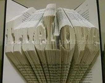 True love book folding pattern