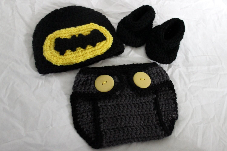 Infant Batman Hat Crochet Pattern Dancox For