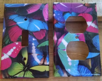 Butterfly Light Switch Plate/Plug Covers