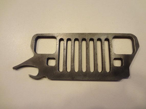 items similar to jeep bottle opener on etsy. Black Bedroom Furniture Sets. Home Design Ideas