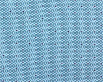 Junko Matsuda blue flowers - Fat Quarter