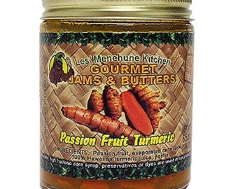 Passion Fruit Turmeric Jam