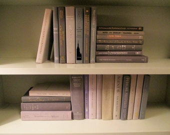 Books By The Foot Box Instant Library Multi Color Home Wedding Interior Design Collection Staging Realtor Production Greige GRAY GREY BEIGE