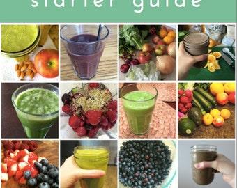 Green Smoothie Starter Guide ebook