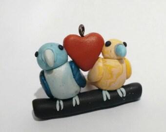 Lovely bird couple