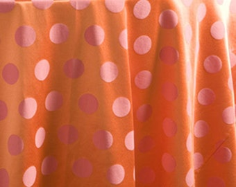 Covington Fancy Dot Pomegranate Fabric