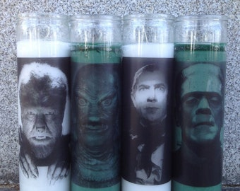 Monster Candles 4 Pack