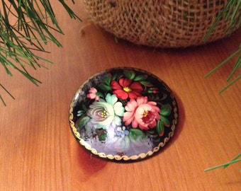 Vintage Floral Brooch Lightweight Flower Pin Great Gift For Her Great mother's Day Gift