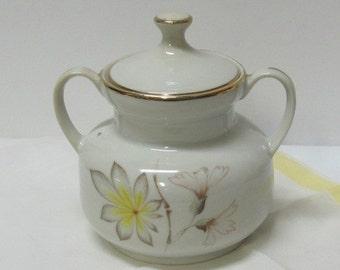Sugar or ceramic pot with lid