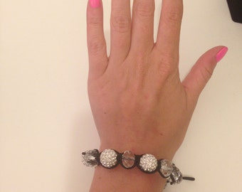 Glam Crystal Friendship Bracelet - Spit