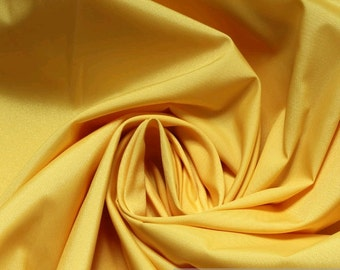 Fabric Trevira® CS taffeta yellow 308 cm wide curtain lemon yellow