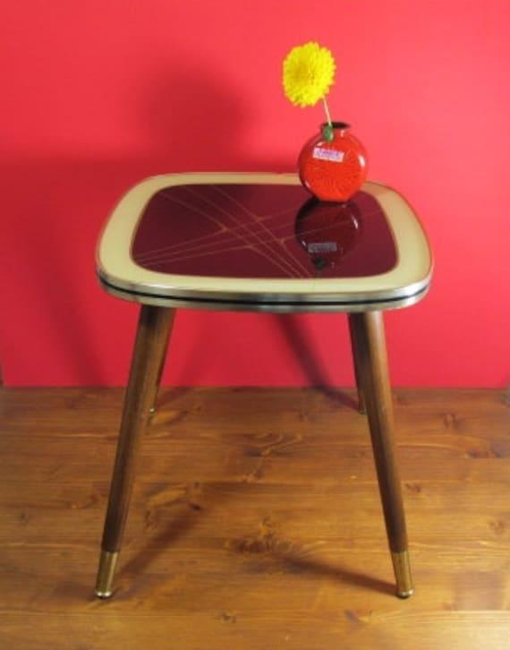 vintage flower stool coffee table stool nierentsich