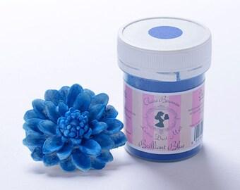 Claire Bowman Lustre Dust, Brilliant Blue Matte Lustre Dust