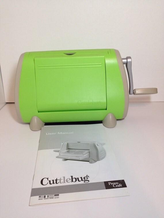 cuttlebug die cutter machine